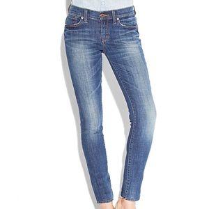 Lucky Brand stretchy Charlie skinny jeans